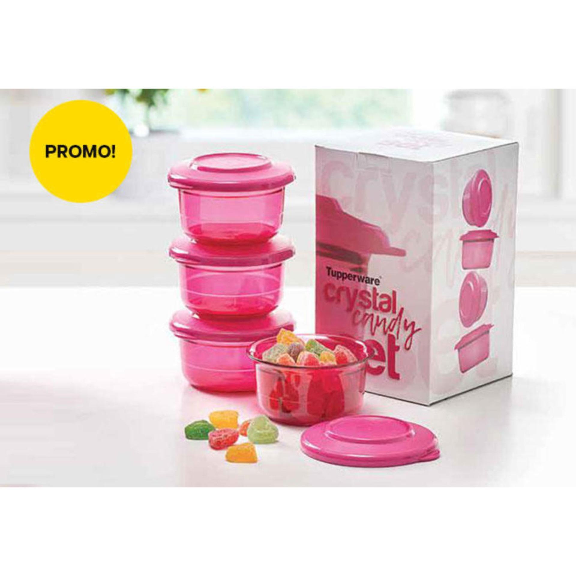 Jual Tupperware Terbaik Promo New Eco Botol Minum Hijau 2 L Crystal Candy Set 4 Toples Kecil Cantik Oktober 2018