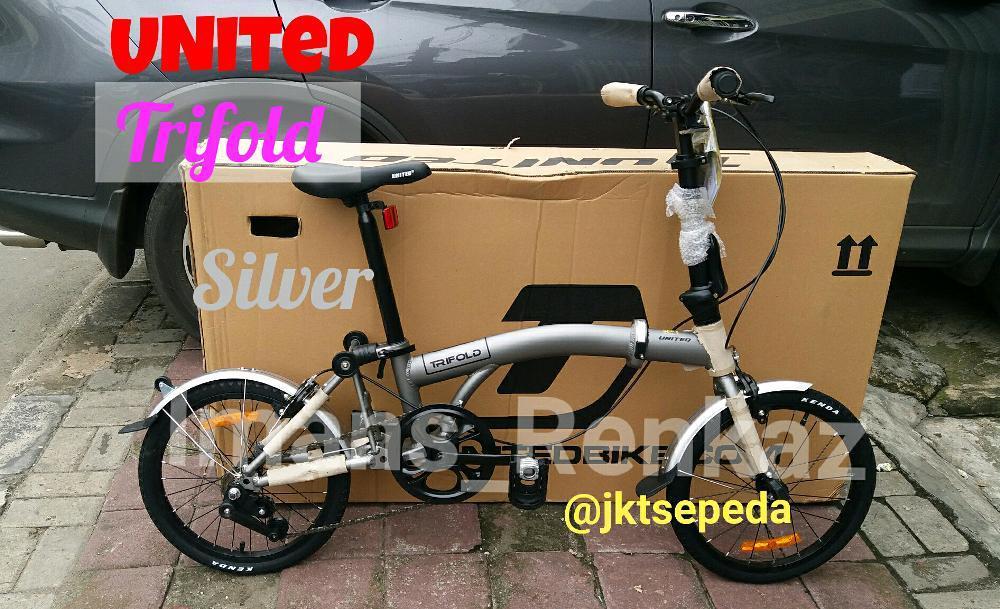 Sepeda Lipat UNITED TRIFOLD 16In