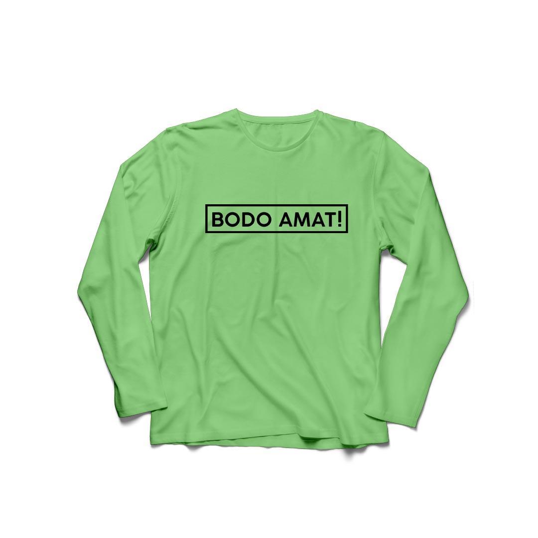 YGTSHIRT - T-shirt Baju BODO AMAT O-Neck Lengan Panjang Longsleeve Cewek / Kaos Wanita / Tshirt Cewe Cotton Combad / Kaos Oblong Perempuan ASIAN GAMES EVENT