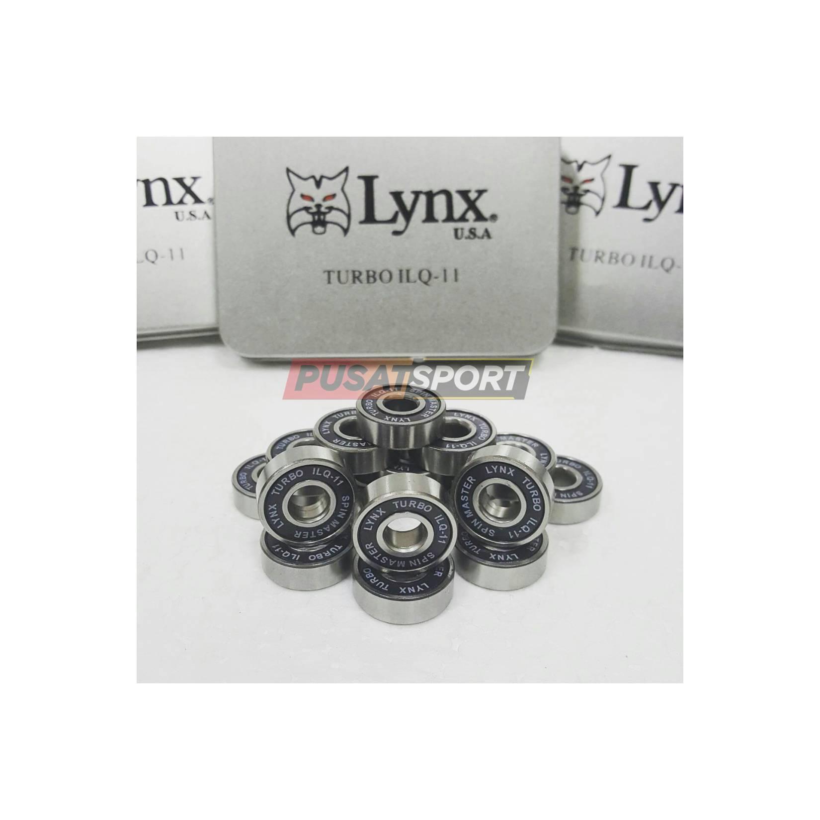 Sparepart Sepatu Roda Lynx Turbo IC Hitam