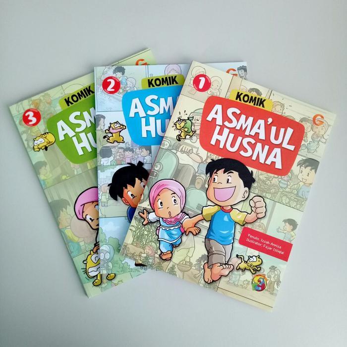 TBIJ - Komik Asmaul Husna - Gema Insani GIP - Buku Anak