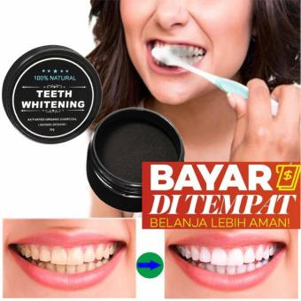 Harga Preferensial Pemutih Gigi Ampuh Teeth Whitening Charcoal