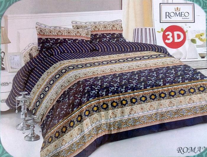 Bedcover Romeo Ukuran 120 X 200 - Roman By Istana.