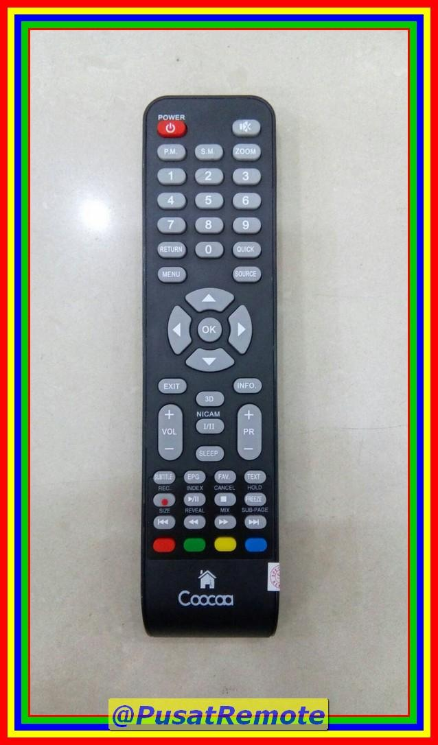 Remot Remote TV Cocaa Coocaa Cocoa LED