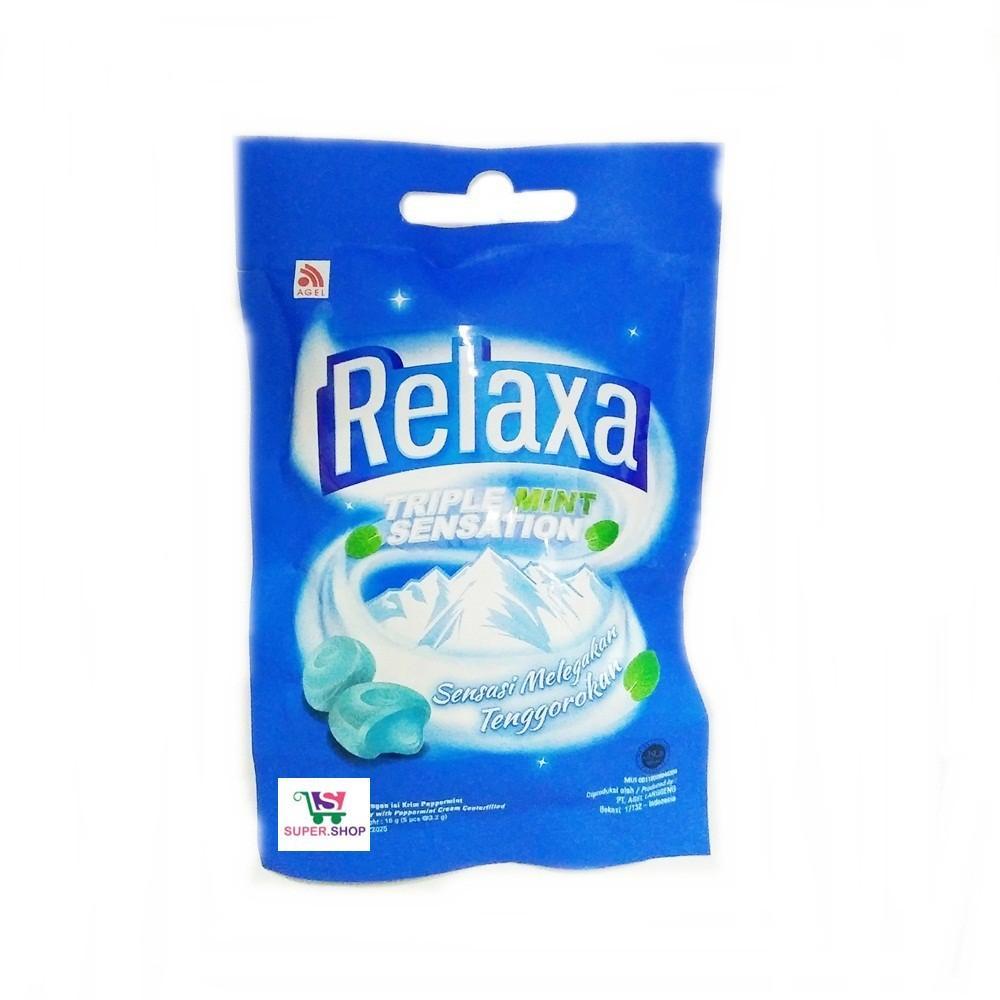 Buy Sell Cheapest Mint 5 Best Quality Product Deals Indonesian Store Moment Propolis Original Kemasan  1 Box Isi Botol Permen Relaxa Triple Sensation Butir