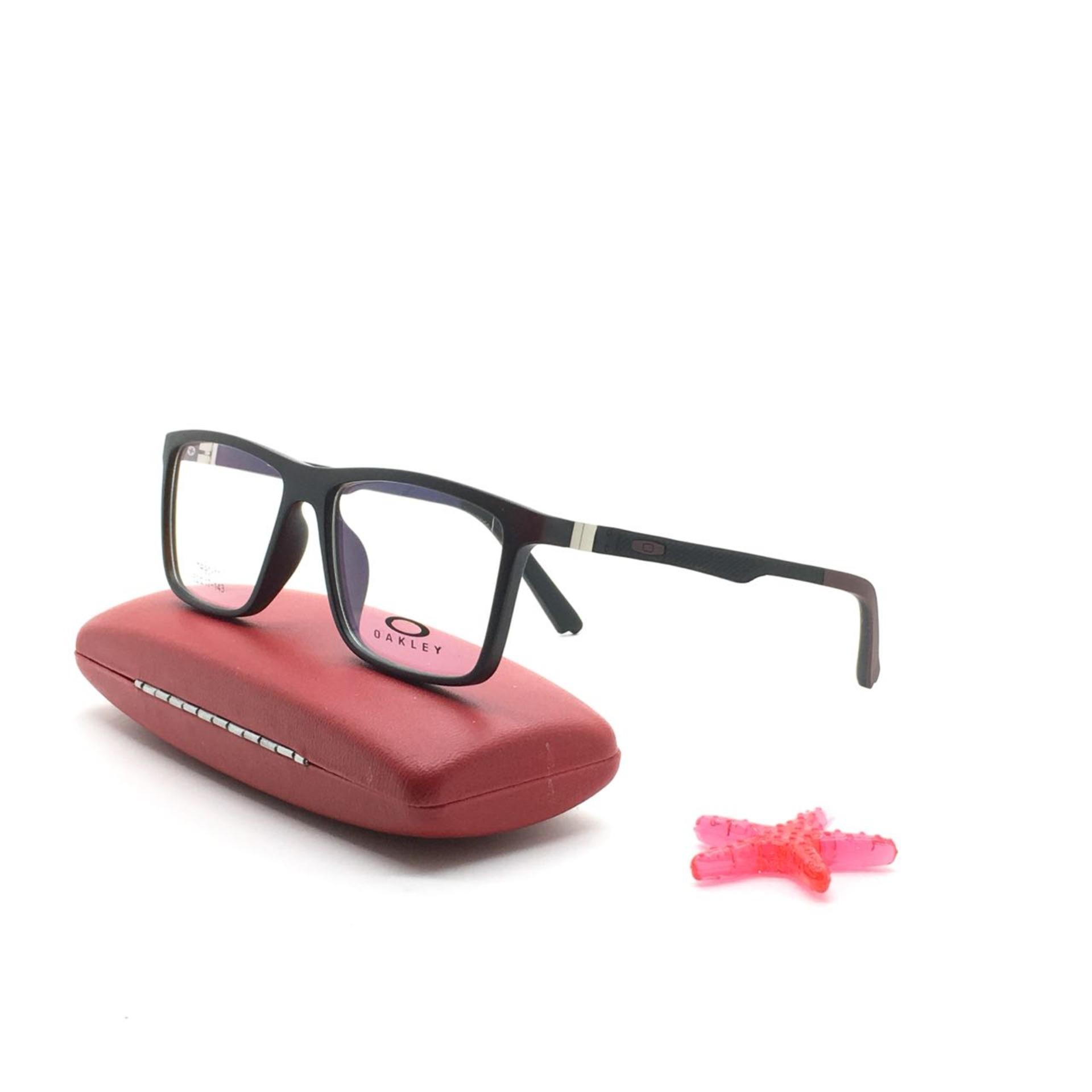 Kaca Mata Hitam Promo Produk Terlaris Frame Kacamata Minus Kotak Import Pria Eyewear Vintage Terbaru Md