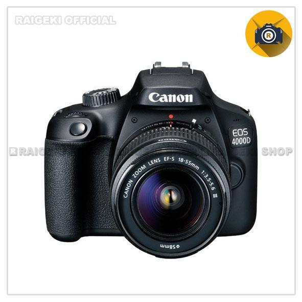 Kamera Canon Eos 4000d Kit 18 55mm Iii 18mp Slr Kamera Free Screenguard