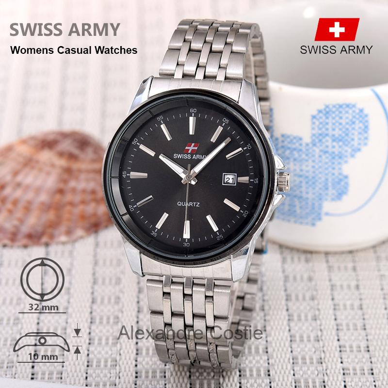 Swiss Army - Casual Watches - Jam Tangan Wanita - TGL - Stainless Steel 7c75c3b3ff