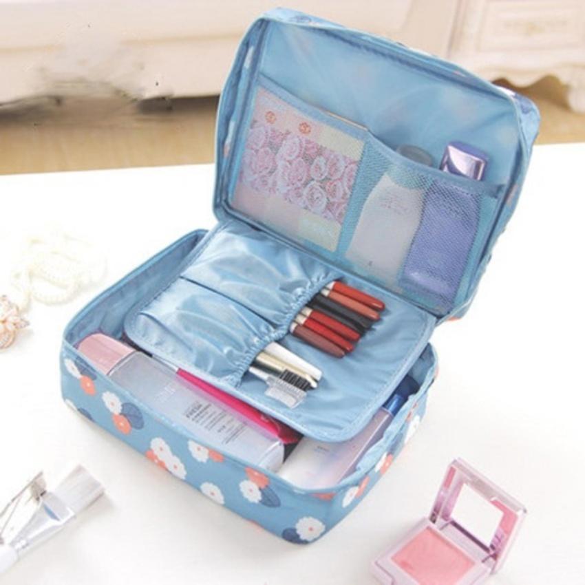 bee99af2a410 Eigia Tas Perlengkapan Mandi dan Kosmetik Multifungsi Travel Bepergian  Jalan-jalan Waterproof Tempat Cosmetic Makeup