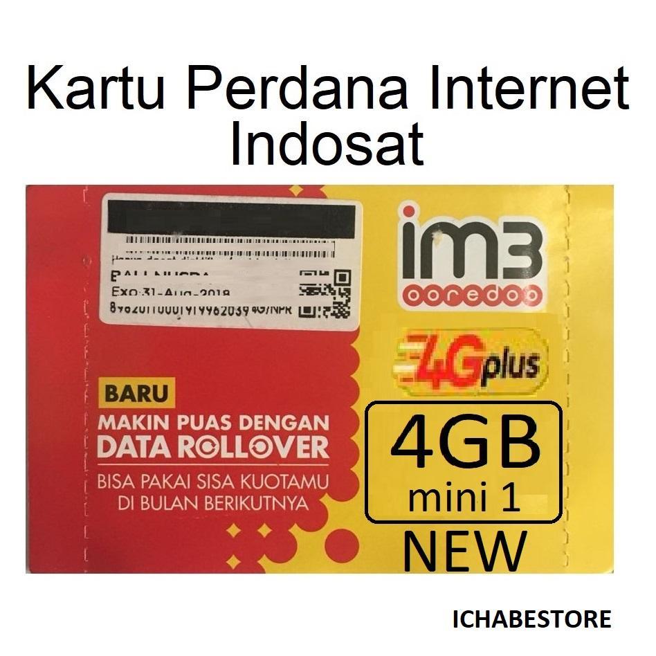Jual Produk Indosat Terlengkap Perdana Im3 108gb Full 24 Jam Kartu Internet 4gb Mini1 New