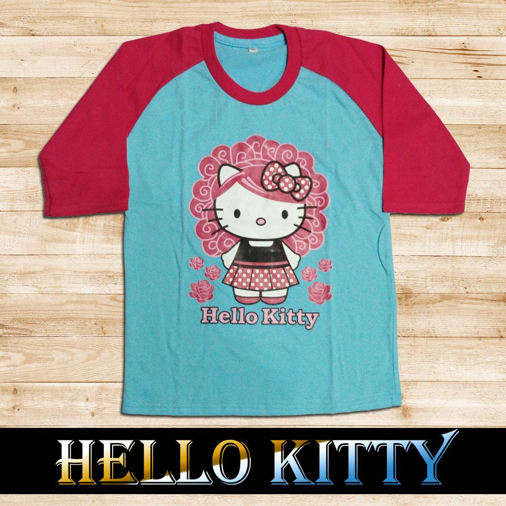 Buy Sell Cheapest Kaos Anak Hello Best Quality Product Deals Katalog Baju Kitty Permpuan Kartun Perempuan Pakaian