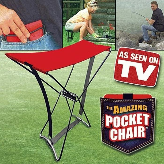 Barakah Kursi Lipat Kemah / Kursi Pancing Ikan / Pocket Chair / kursi mini