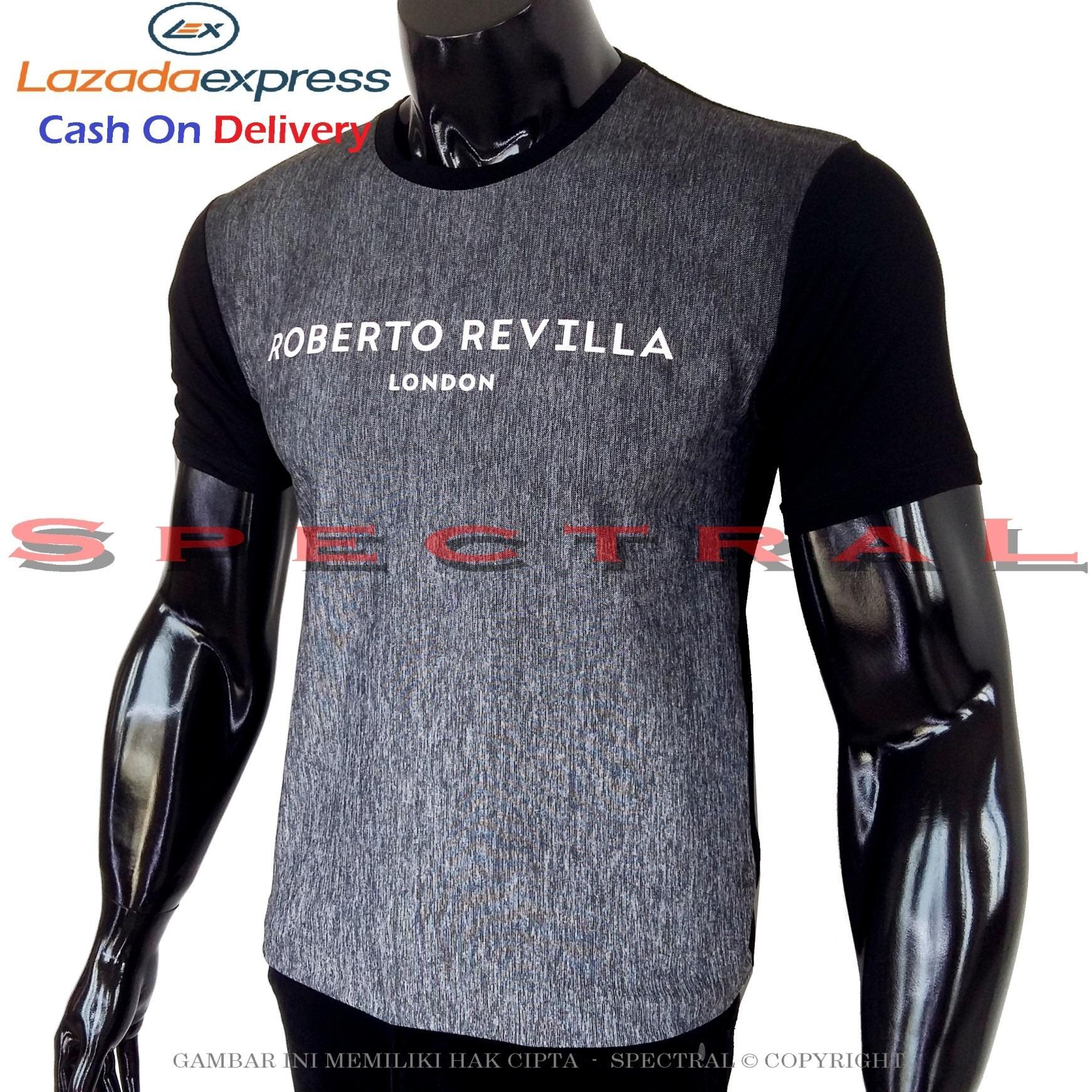 Spectral - Kaos Distro ROBERTO REVILLA London Soft Rayon Viscose Lycra Pola M Fit To L Simple Fashi