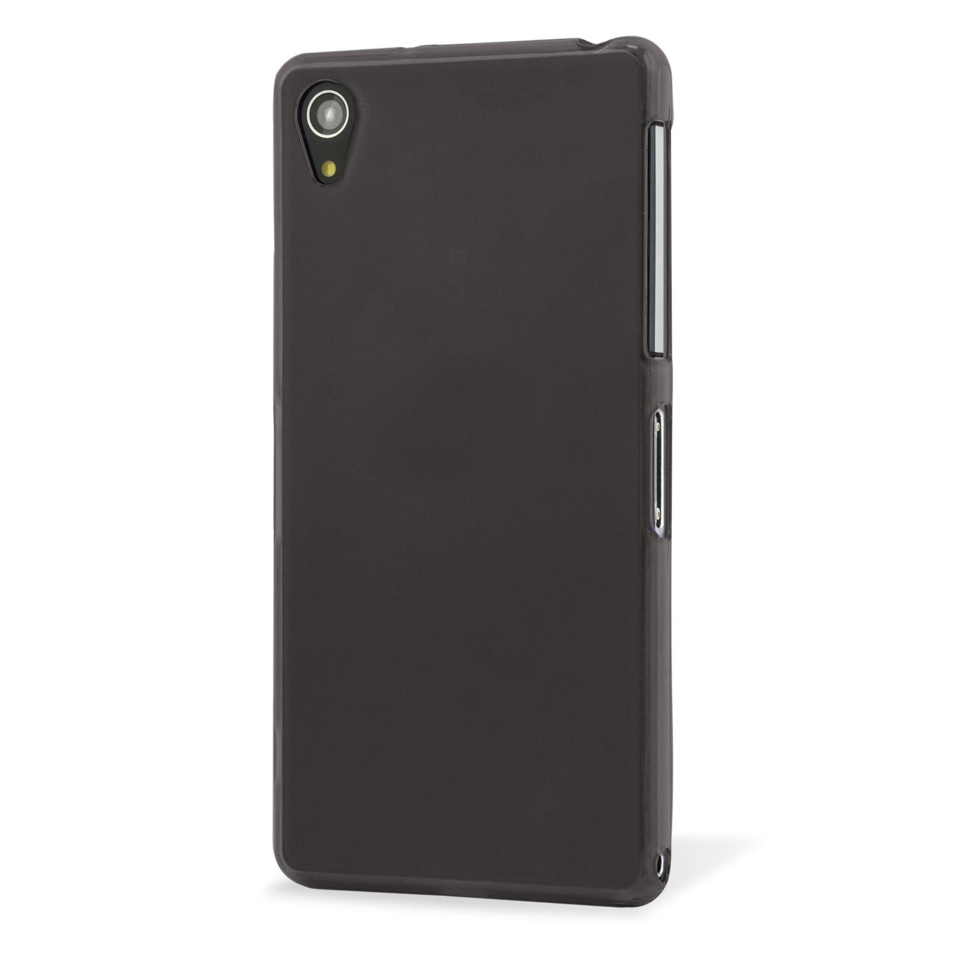Case Slim Black doff Matte Anti minyak For Sony Xperia Z2 - Black Doff