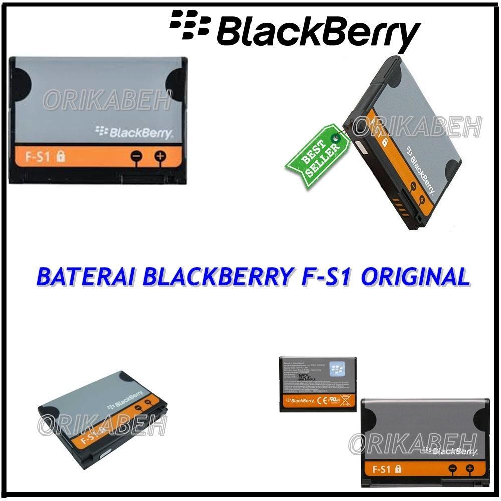 BlackBerry Baterai / Battery F-S1 For BlackBerry Torch / 9800 / 9810 Original - Kapasitas 1270mAh ( orikabeh )
