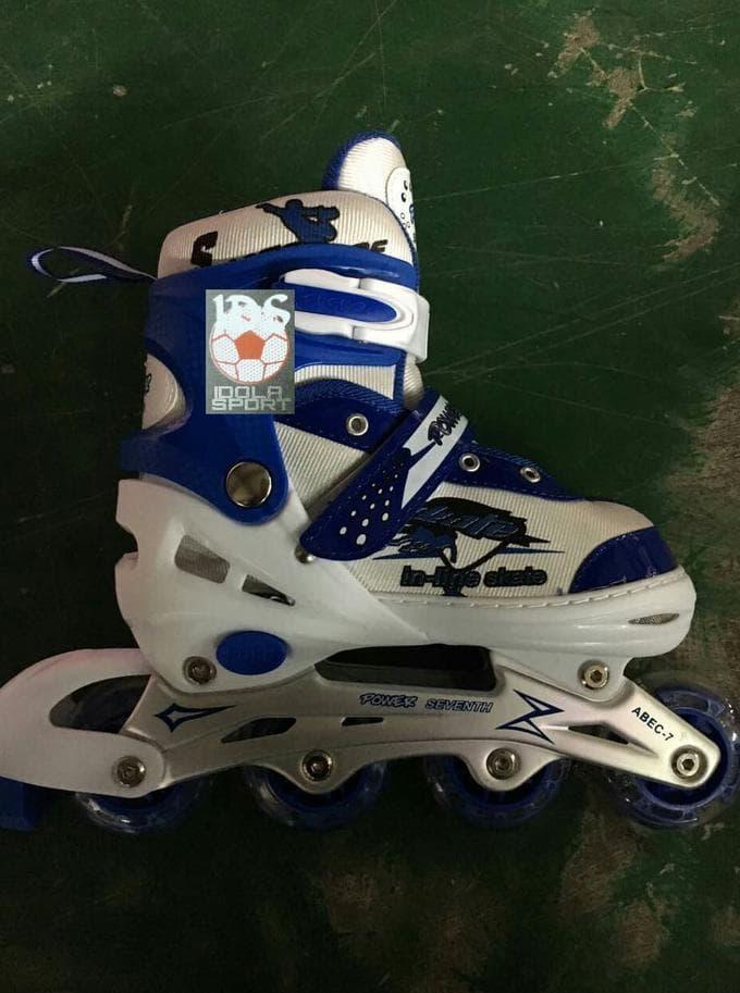 Jual Sepatu Roda / Inline Skate Power Seventh Jahit Murah Diskon