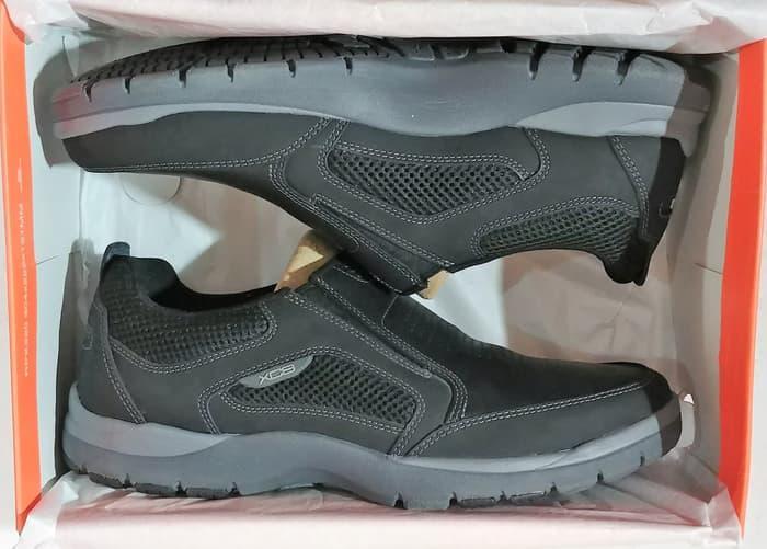 Sepatu Pria Rockport Kingstin Slip On Black H80196 - bLn0QD 7505c62bbd