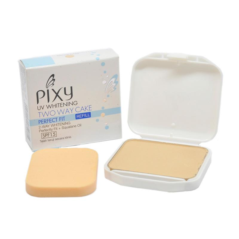 PIXY Two Way Cake Perfect Fit Refill - Natural White