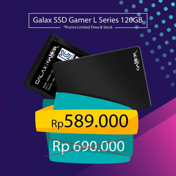 PROMO !! Galax anniversary!! GALAX SSD Gamer L Series 120GB