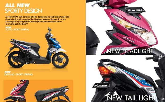 PROMO All New Honda BeAT Sporty eSP CBS JAMBI TERLARIS