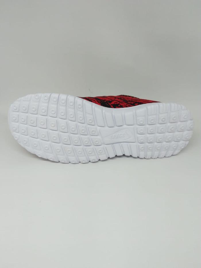 Sepatu Running Specs Original Overtune Red Black New 2018