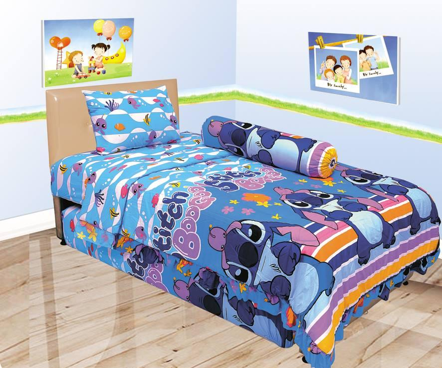 Sprei LADY ROSE motif Karakter Kartun Single Size 120 x 200 cm ladyrose kids anak remaja
