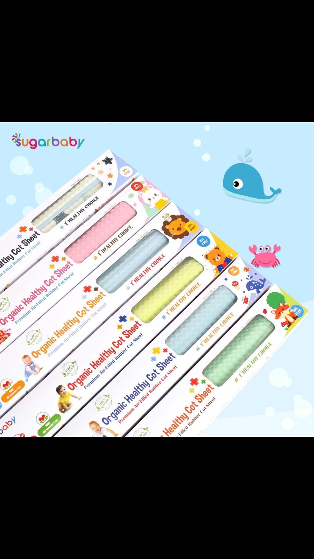 Perlengkapan Lainnya Terbaik Perlak Pangku Kecil Changing Mat Bayi Sugar Baby Waterproof 90 X 60cm Organic Healthy Cot Sheet