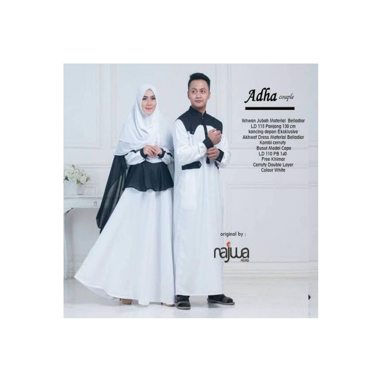 couplr hari raya adha Couple by najwa 2 warna