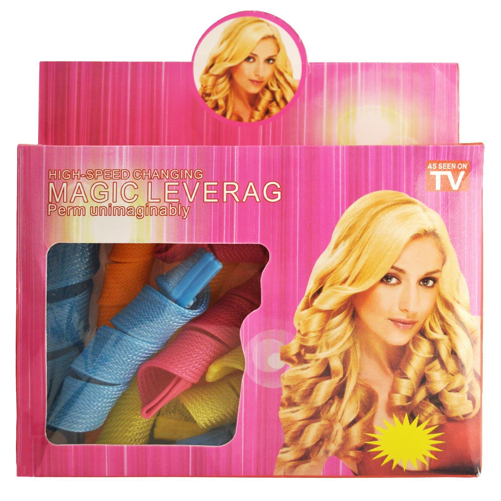 Magic Leverage - Alat Keriting Rambut curly / hair style curler