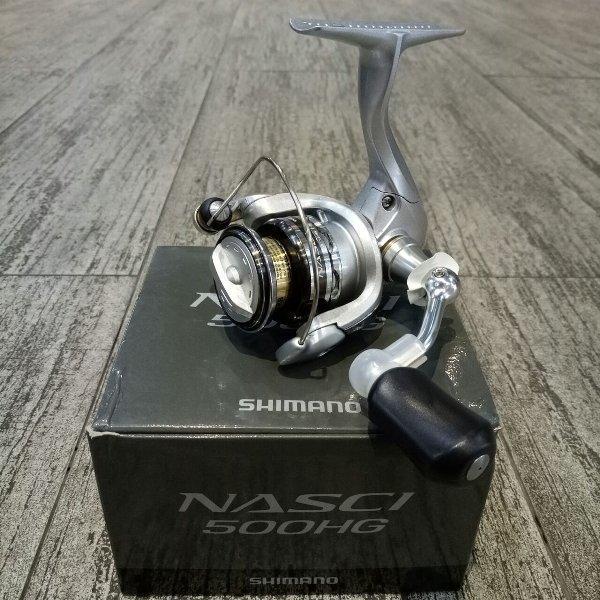 Reel Pancing Shimano Nasci 500 HG 3 1 BB