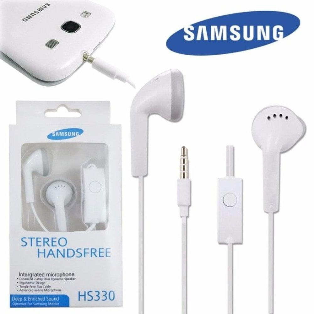 Headset Samsung Compatible for Samsung All Type Stereo Handsfree Headphones Bass Audio High Qualty 3.5mm