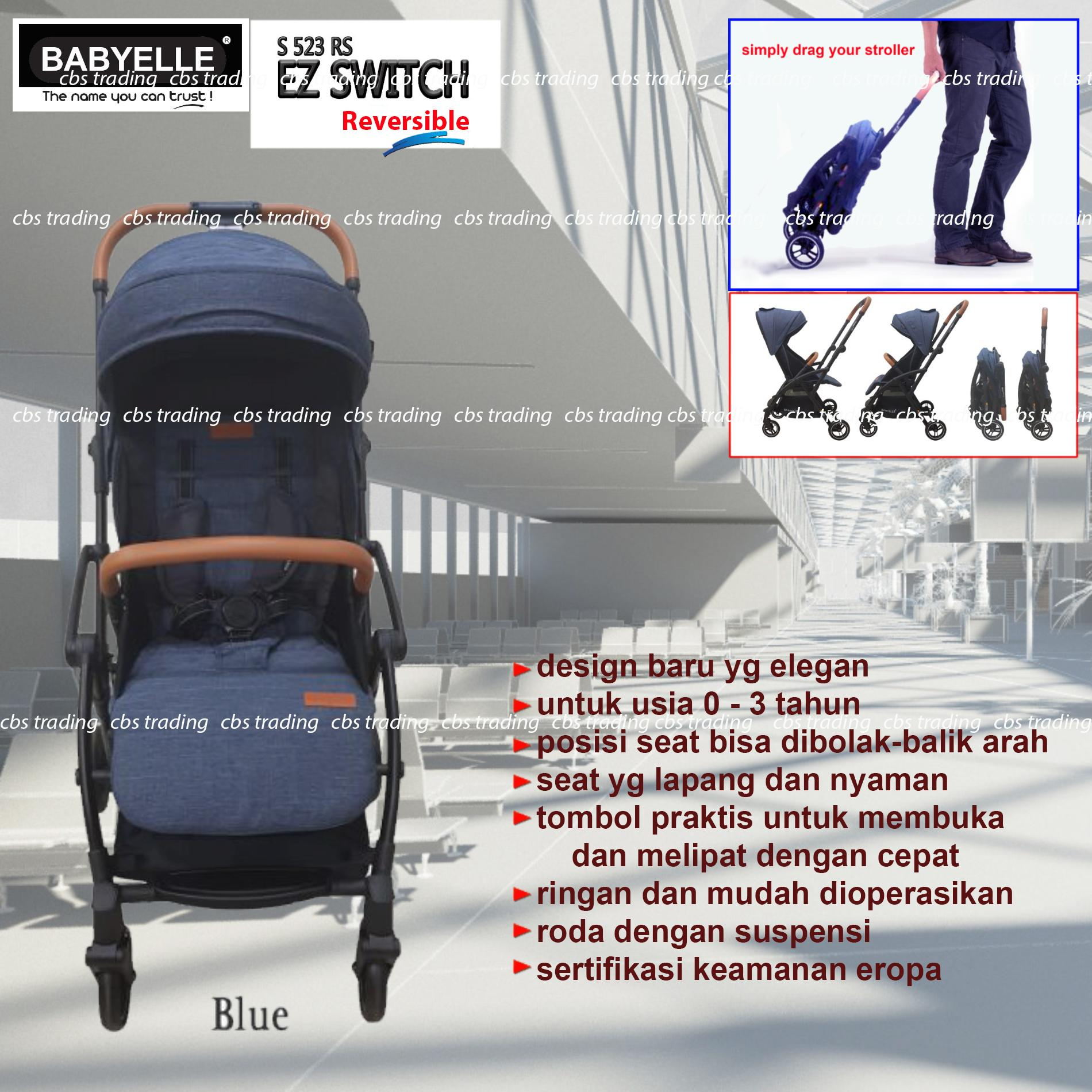 Jual Produk Baby Elle Terlengkap Babyelle Automatic Swing Pink 32007 Stroller S523rs Ez Switch Lightweight Travelmate Kereta Dorong Bayi Blue