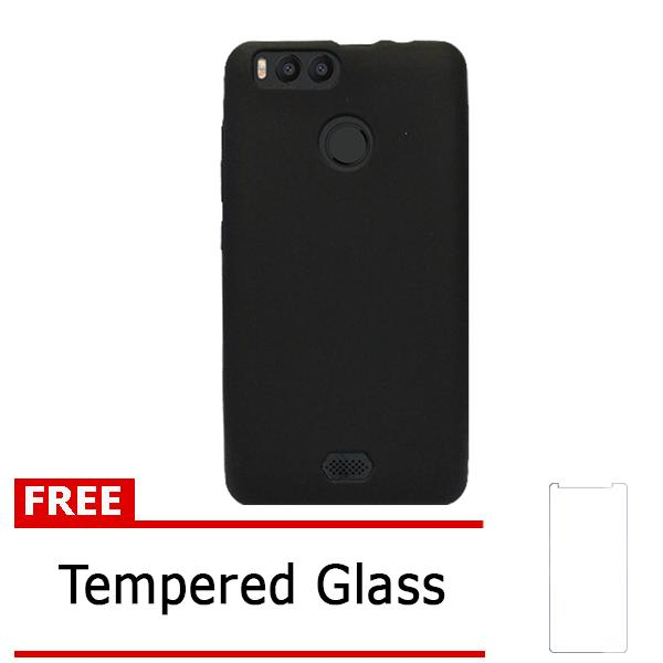 Case Softcase Advan Vandroid i5C Duo free Tempered Glass