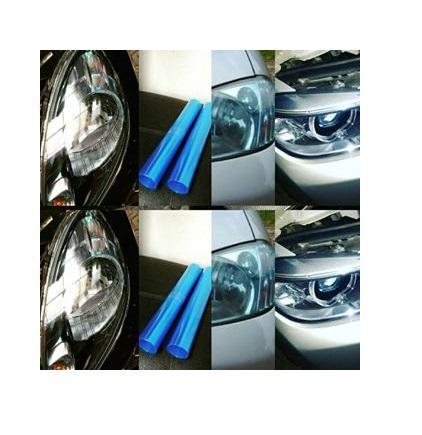 Stiker Sticker Headlamp Blue Hybrid Blue Lenses Hybrid