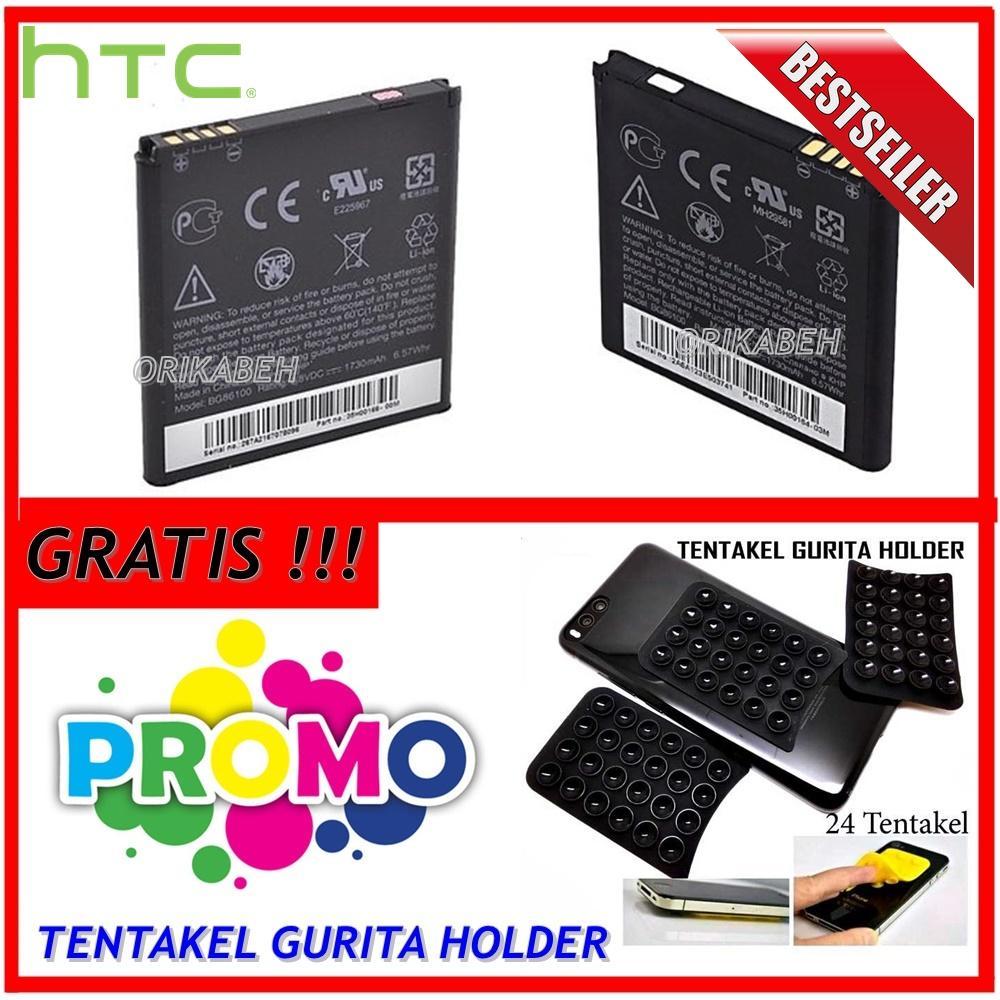 Htc Baterai / Battery HTC G18 / Sensation XE BG86100 Original Kapasitas 1730mAh + Gratis Holder Gurita ( orikabeh )