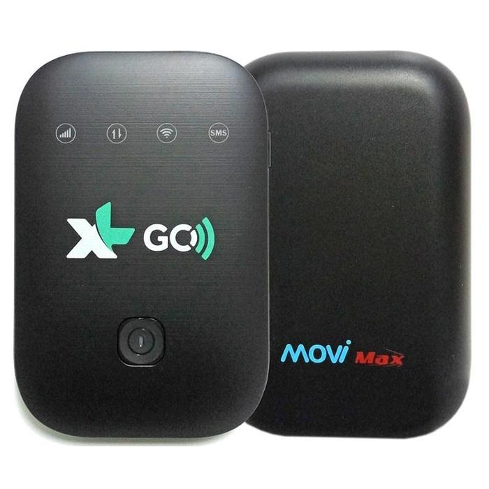 Hemat10%!! Mifi Wireless Xl Go Movimax Mv003 Modem Wifi 4G Unlock All Gsm - ready stock