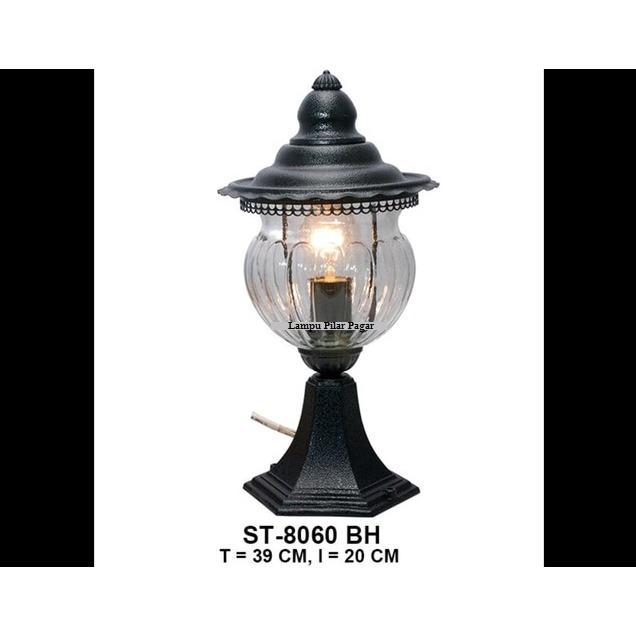 Lampu Hias Pagar Outdoor Dekorasi Minimalis ST8060 BH