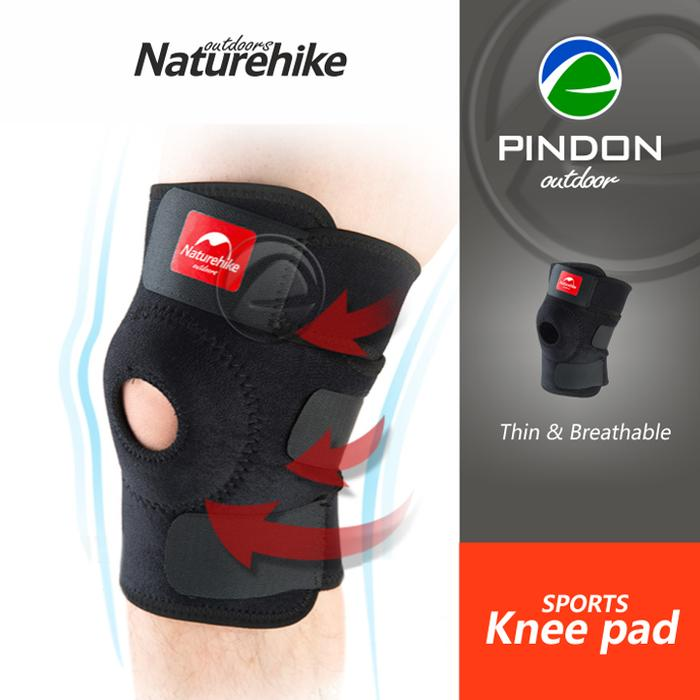 Hot Item!! Deker Lutut Naturehike Nh15A001-M - Pelindung Lutut Knee Support - ready stock