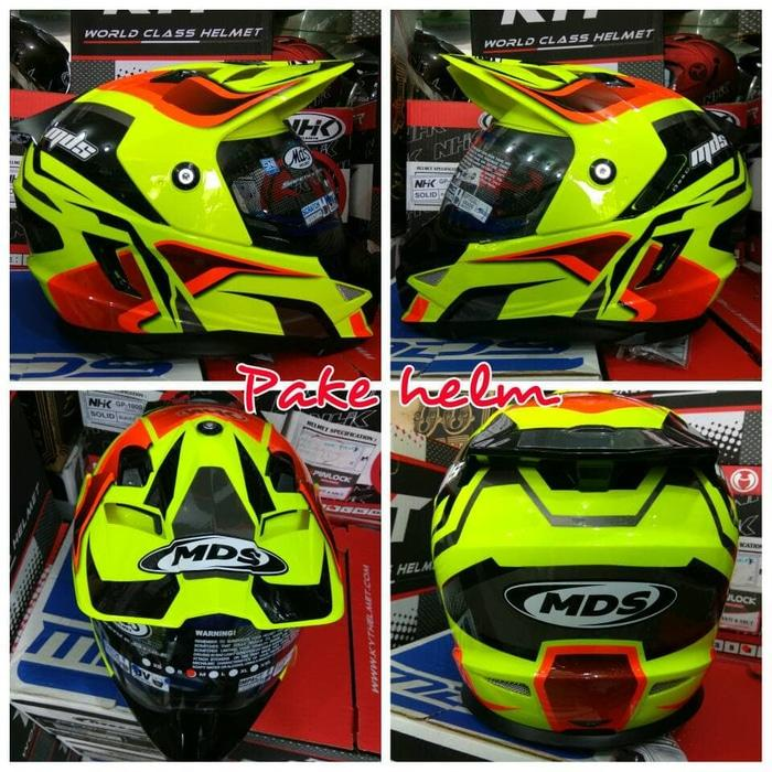 Best Seller MDS SUPERMOTO MDS SUPER PRO #2 YELLOW FL
