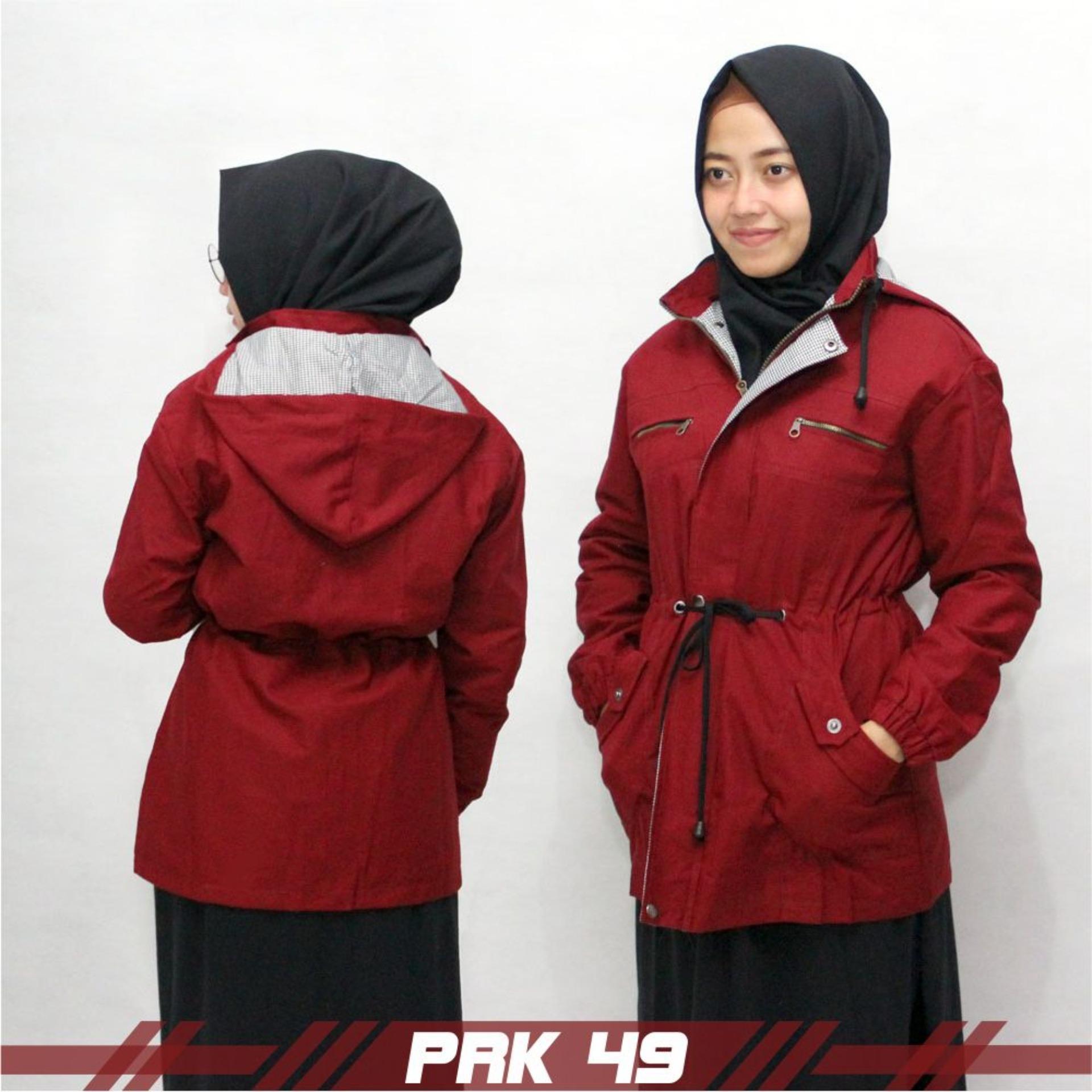 Emdeha Store - TERBARU Jaket Parka Wanita Premium Hoodie Fashionable All Size