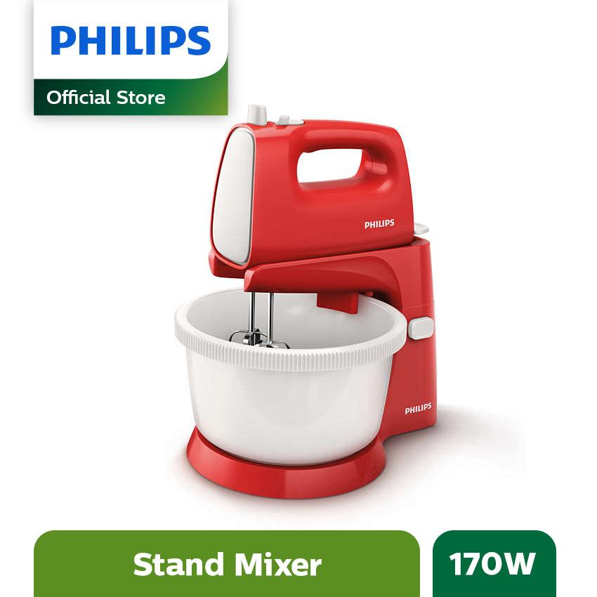 Philips Stand Mixers HR1559/10 170W - Merah