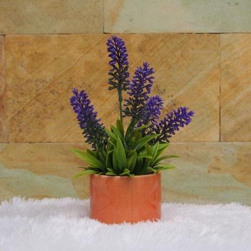 Bunga Meja Dekorasi Rumah Bunga & Tanaman Artifisial - Bunga Pajangan Artifisial - Hiasan Ruang Tamu & Kantor-Bunga Lavender