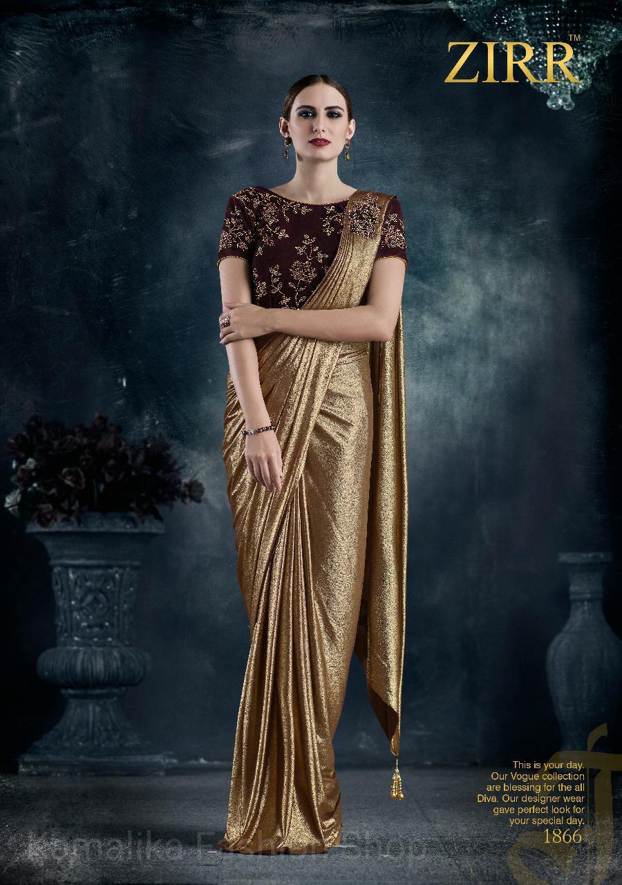 Signora by Zirr 6 / Saree India / Gamis Pesta / Gaun Muslim India