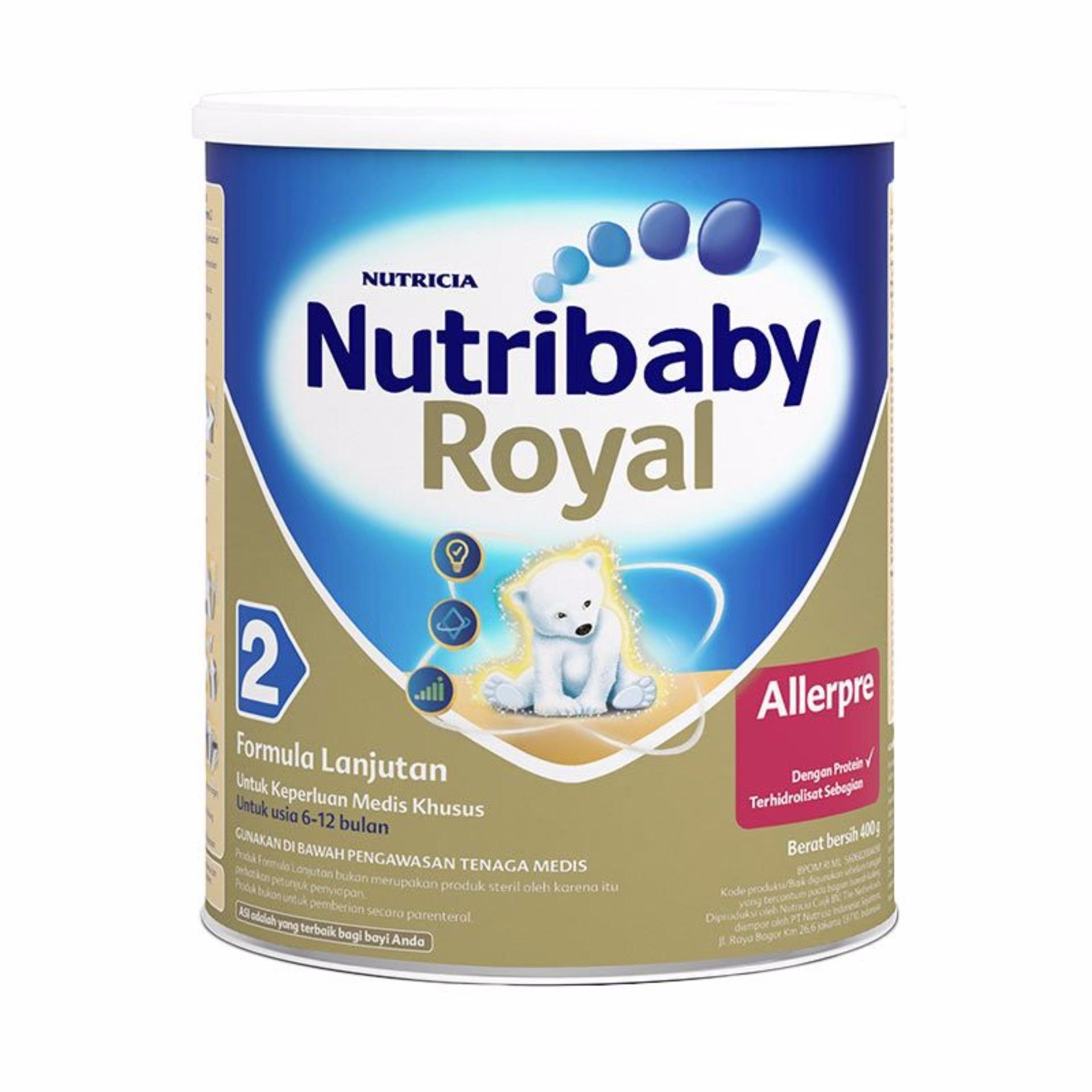 Jual Susu Formula Nutricia Termurah Bebelac 4 Vanilla Madu 400gr Nutribaby Royal Allerpre 2 400 Gr