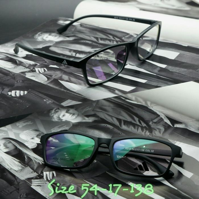 Frame Kacamata Adidas 249 Black Doff Kacamata Pria sport - k2IXmN
