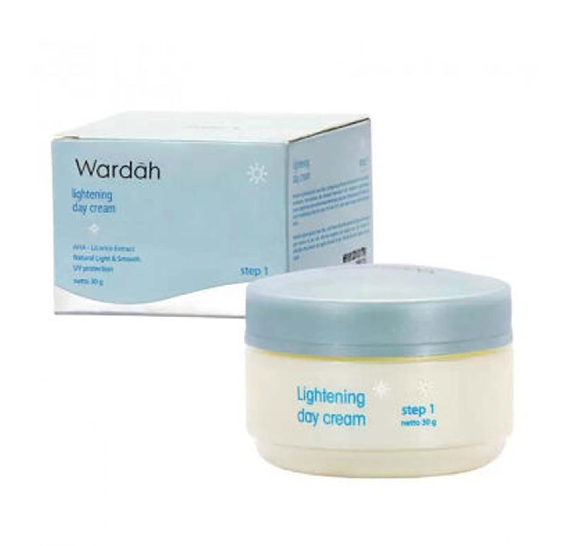 Harga Wardah Lightening Night Cream Step 1 20 Ml Rp 41500 Day 30 Gram