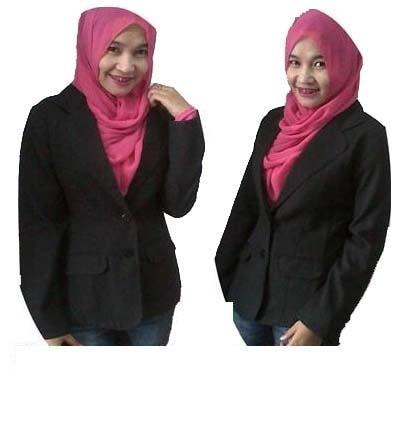 Blazer kerja wanita/jas kerja/blazer hitam