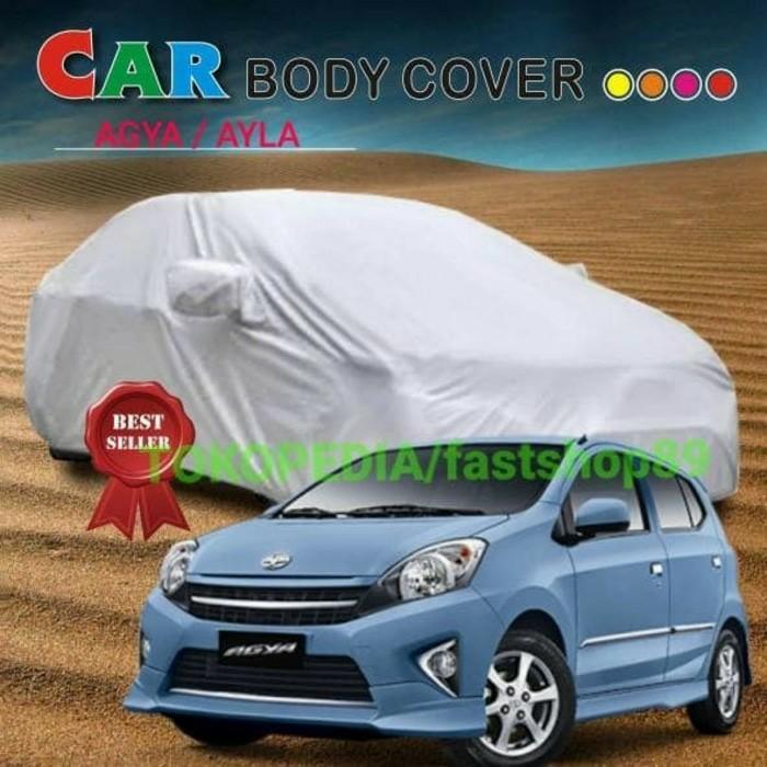 BEST SELLER!!! Body cover mobil atau sarung penutup pelindung mobil toyota agya ayla - eDfpBY