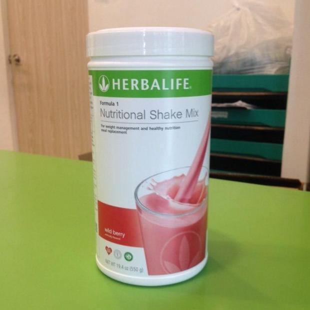 SHAKE WILD BERRY HERBALIFE # pelangsing alami & pengganti makan