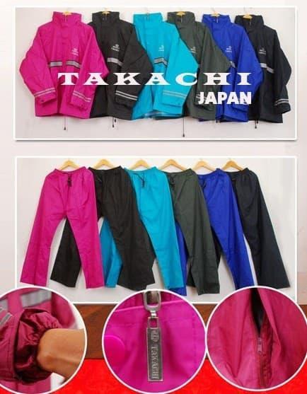 Jas HUJAN Takachi Size M L XL Jas Hujan Takachi Premium NEW